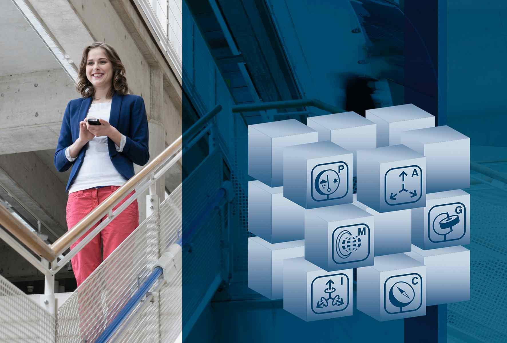 Világszerte minden második új okostelefonban a Bosch akár 20 érzékelője dolgozik már ma is, ezek például a gyorsulást, a hőmérsékletet vagy a légnyomást mérik. Képünk 2013-ban készült.