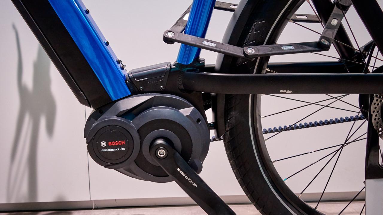 A Bosch Performance Line motoregység agyváltóval akár 50 newtonméterrel, illetve 260 százalékos rásegítéssel támogatja a kerékpárost
