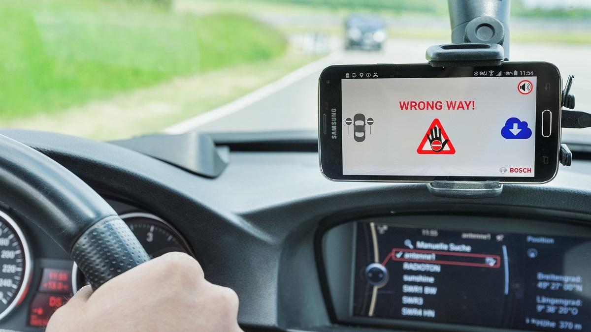 Bosch wrond way driver