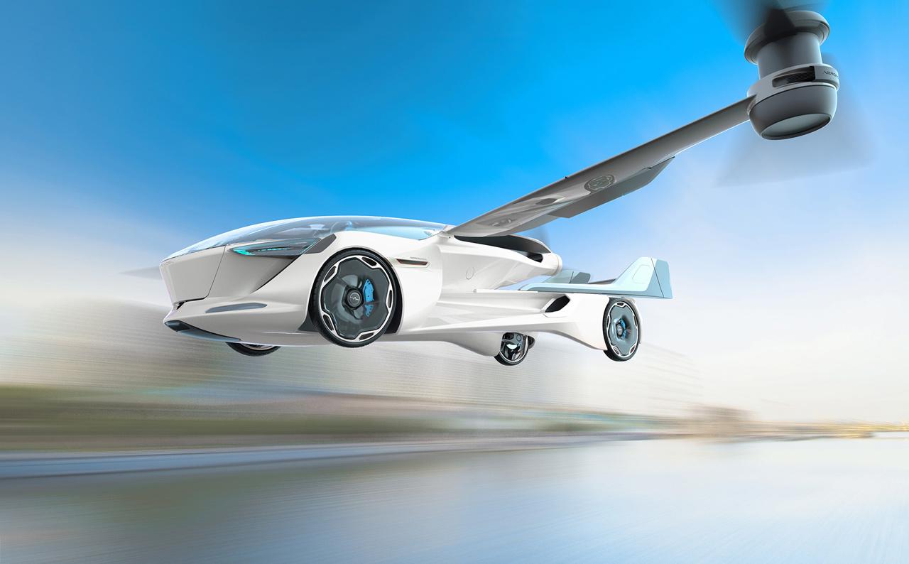 Álom vagy valóság a repülő autó?