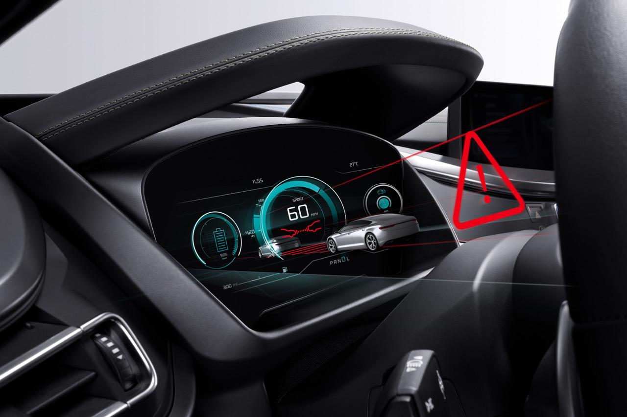 A passzív háromdimenziós technológiát használó kijelző még biztonságosabbá teszi az autókat