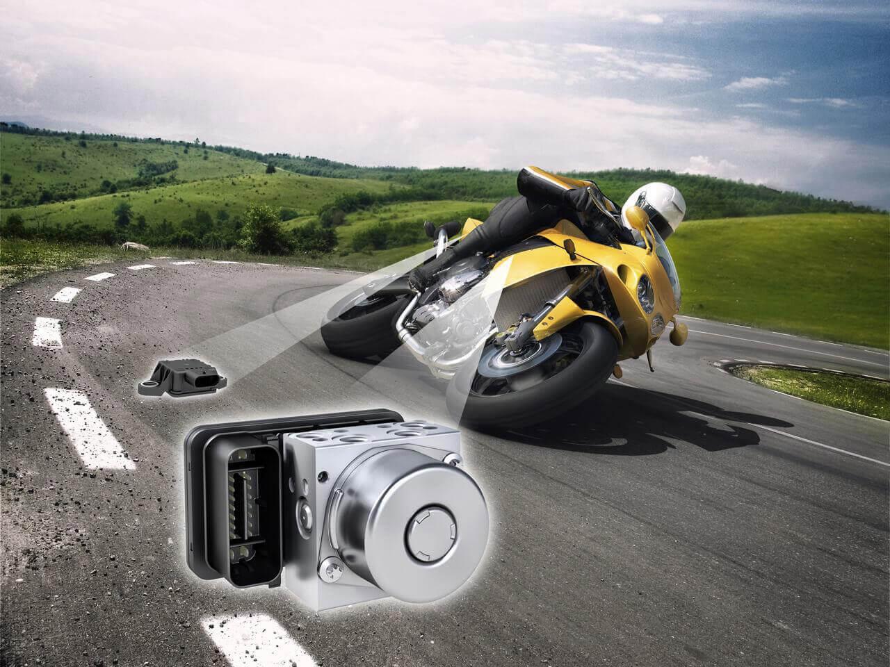 A menetstabilizáló a motorkerékpároknál talán még nagyobb jelentőséggel bír, mint az autóknál