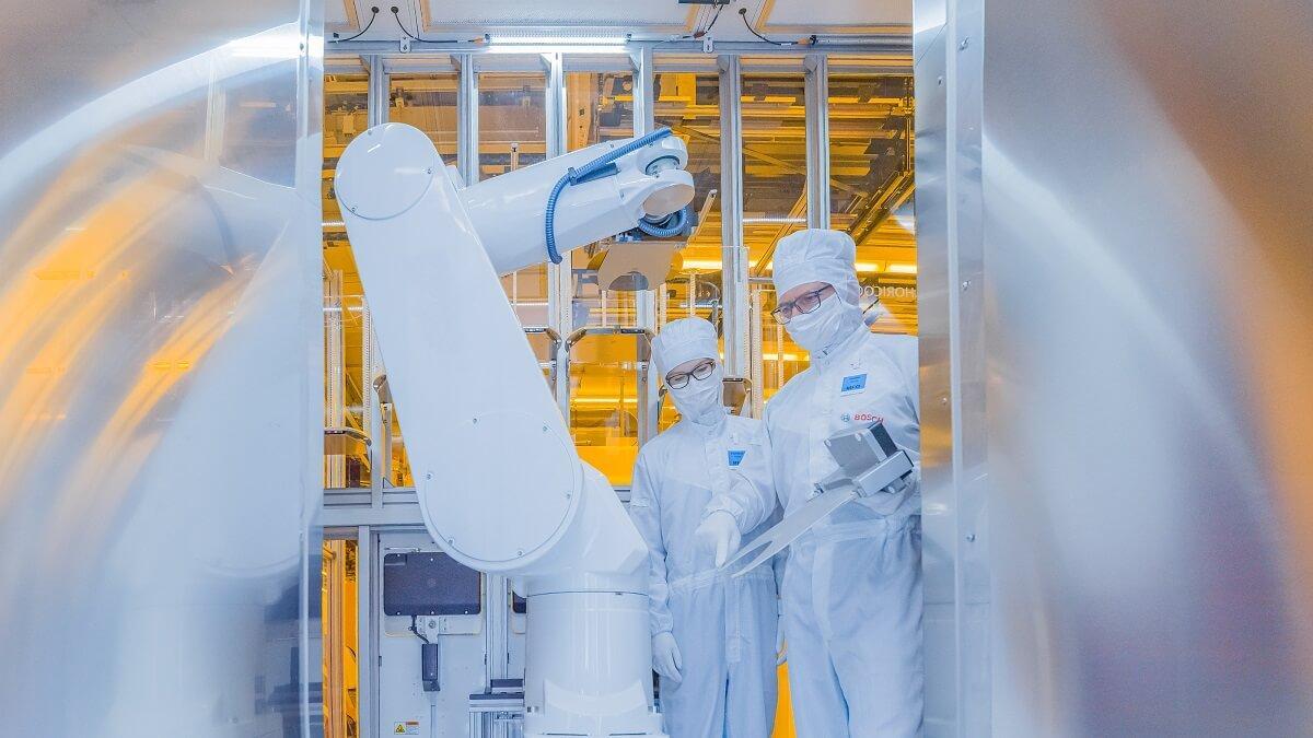 A csúcstechnológiával felszerelt gyár