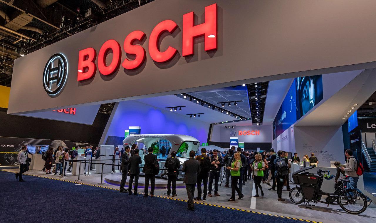 Két éve még egészen másként kellett bemutatni a CES újdonságait (a Bosch 2019-es standja)