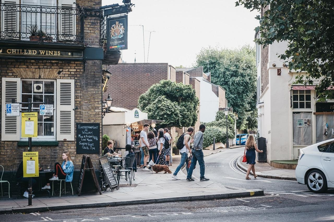 London Hampstead Heath városrész