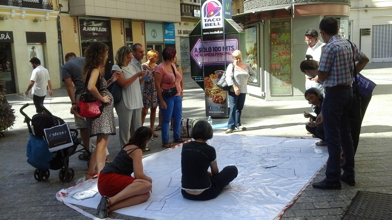 Sara Ortiz, a Barcelonában tevékenykedő Punt 6 várostervező kollektíva tagja