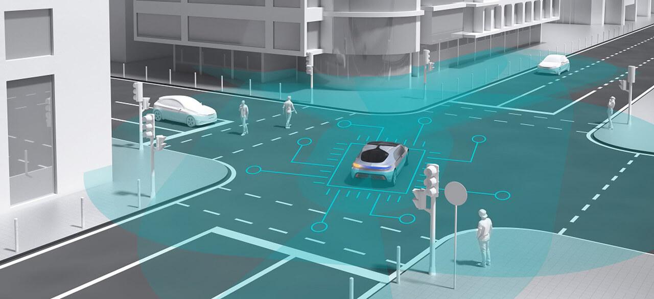A városi környezetben van a legnehezebb helyzetben az önvezető autó, hiszen ott rengeteg potenciális veszélyforrást kell követnie