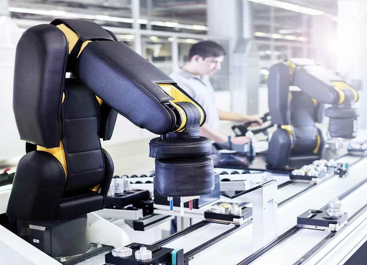 Bosch Rexroth APAS kollaborítav robot: ember és gép kéz a kézben